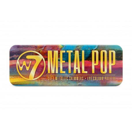 W7 Metal Pop Eyeshadow Palette