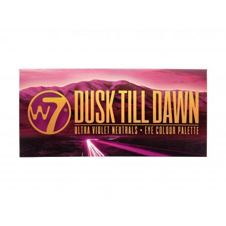 W7 Dusk Till Dawn Eyeshadow Palette 9.6gr