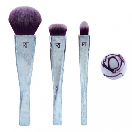 Real Techniques Brush Crush V2 4-Piece Set
