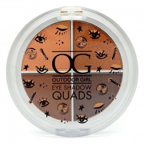 Outdoor Girl Eye Shadow Quads Palette - Americano