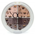 W7 Outdoor Girl Eye Shadow Quads Palette - Cafe Au Lait 3g