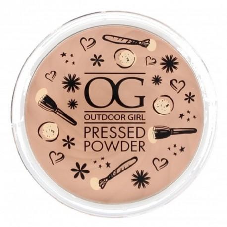 Outdoor Girl Pressed Powder - Fair