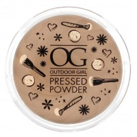 Outdoor Girl Pressed Powder - Medium Beige
