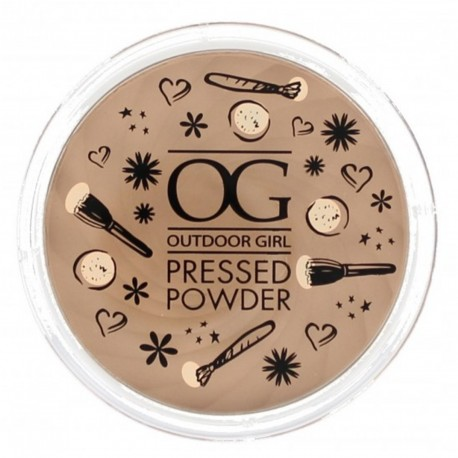 Outdoor Girl Pressed Powder - Fair