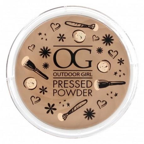 Outdoor Girl Pressed Powder - Translucent