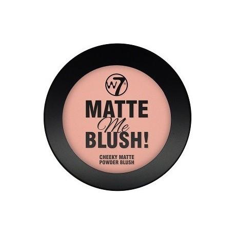 W7 Matte Me Blush - On The Edge