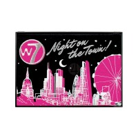 W7 Cosmetics Night On Town 22 Eyeshadow Palette 19.36g