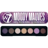 W7 Cosmetics Moody Mauves Eye Colour Palette 7g