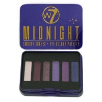 W7 Midnight Smokey Shades Eyeshadow Palette 7g