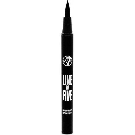 W7 Line To Five Black Waterproof Eyeliner Pen 1,2ml