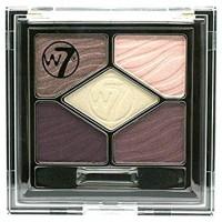 W7 Silky Eyes Shadow Palette - Magic Mauve 4.5g