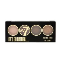 W7 Let's Go Quad Eye Color Palette - Let's Go Natural 5g