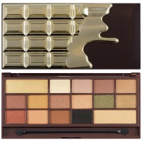 Makeup Revolution I Heart Makeup Chocolate Palette Gold 24Κ 22g