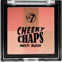 W7 Cheeky Chaps Multi Blush Compact - Hot Gossip 10gr