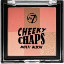 W7 Cheeky Chaps Multi Blush Compact - Darling 10gr
