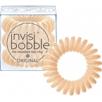 Invisibobble The Traceless Hair Ring λαστιχάκι για τα μαλλιά 3 τεμ Nude To Be