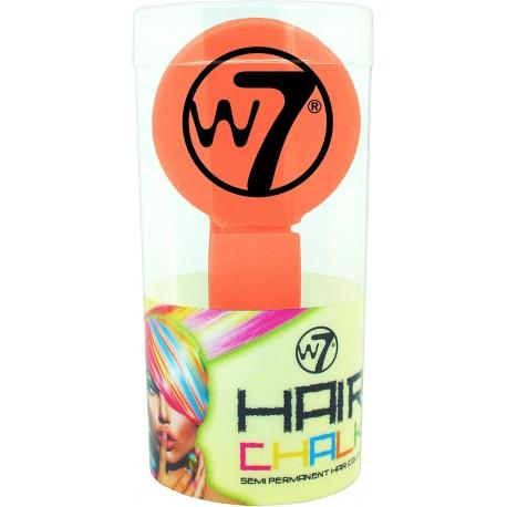 W7 Ανταυγειες Hair Chalk Peach Red 4g