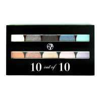 W7 Perfect 10 out of 10 Eyeshadows Assorted Shades