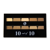 W7 Perfect 10 out of 10 Eyeshadows Brown Shades