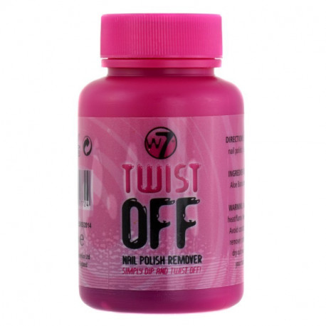 W7 Twist off Nail Polish Remover