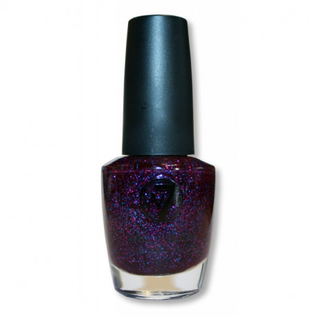 W7 Cosmic Purple 71 Nail Polish 18ml