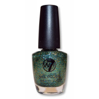W7 Cosmic Green 73 Nail Polish 18ml