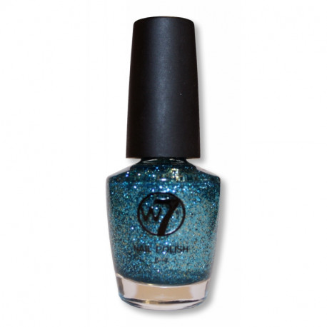 W7 Cosmic Blue 74 Nail Polish 18ml