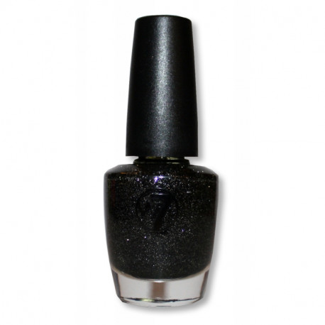 W7 Cosmic Black 75 Nail Polish 18ml