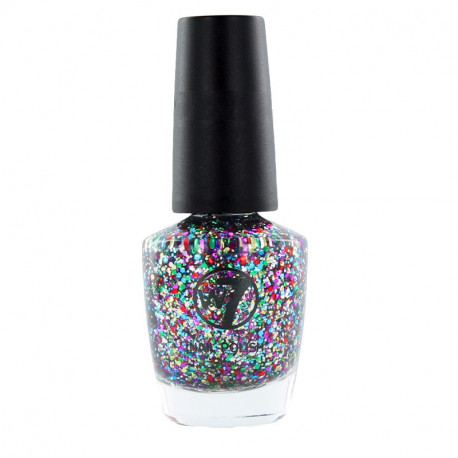 W7 Multi Dazzle 116 Nail Polish 18ml