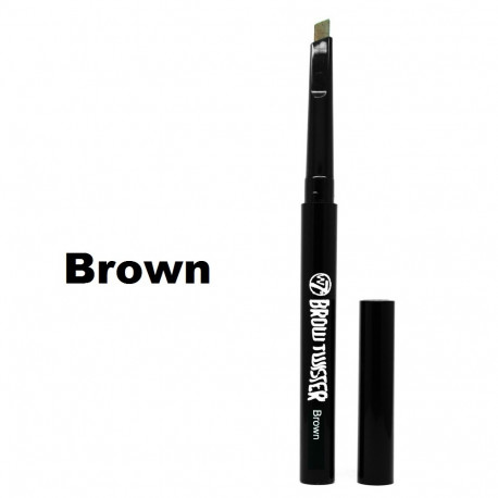 W7 Brow Twister, Easy Twist Eye Brow Pencil 0.28g Brown