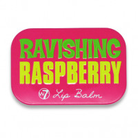 W7 Fruity Flavours in a Tin Lip Balm 12g Ravishing Raspberry