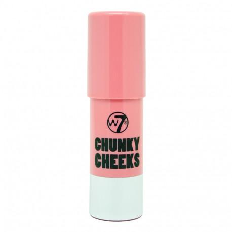 W7 Chunky Cheeks Blusher 7g - New York